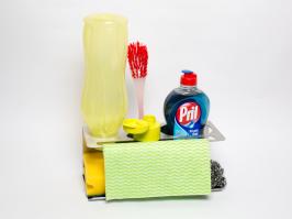Küchenorganizer,Küche,Spritzschutz Kochinsel,Flaschen abtropfer