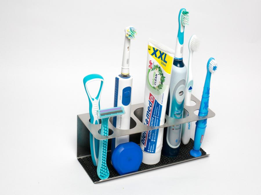 Zahnbürsten,Zahnbürstenhalter,Edelstahl,Bad,Küche